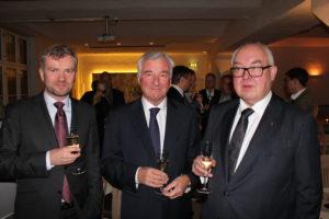 Fredrik Skribeland, Peter L. Bernhardt og Trond Vernegg,