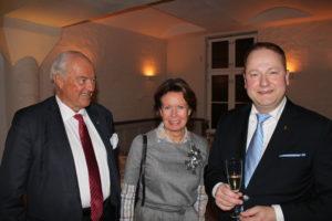 Peter Meidell, Cecilie Bugge og Clemens Eide.