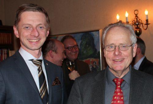 Espen Stedje og Per Qvale.