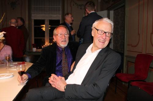 Nils Heyerdahl og Finn-Erik Vinje.