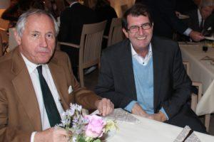 Paul Eilertsen og Stig Michaelsen. (Foto: Christian Stabell
