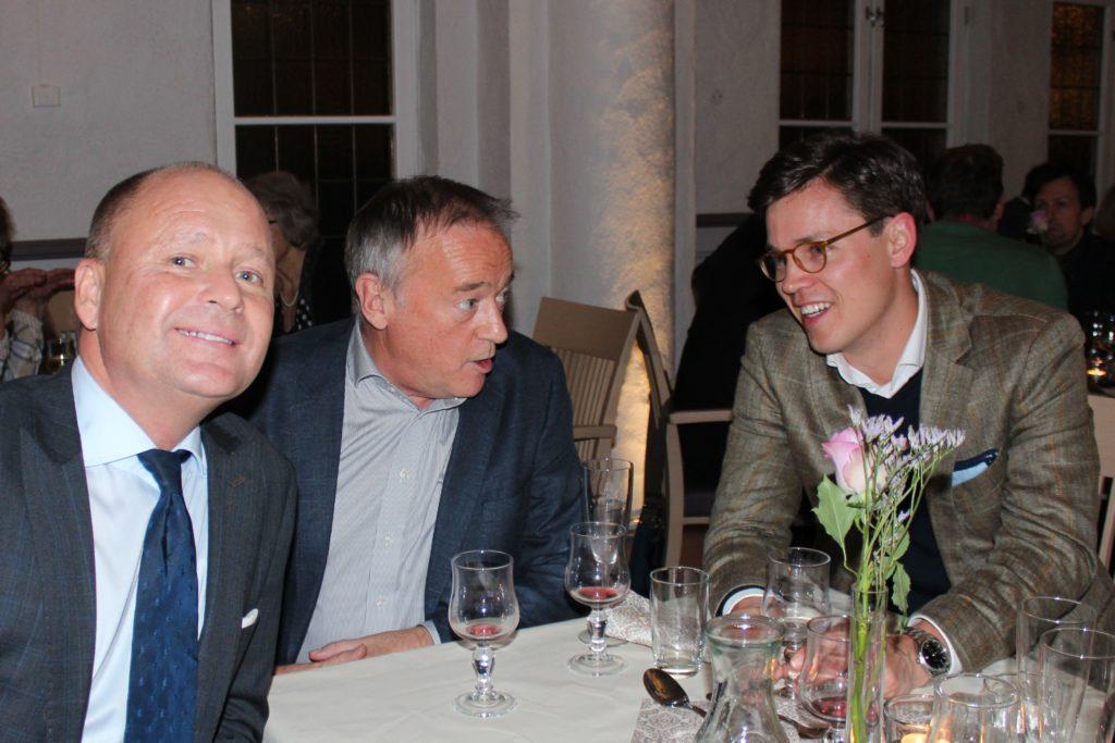 Fra venstre: Frode Yngland, Erik Hillestad og Peder Walberg-Olstad.