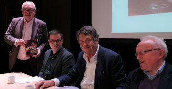 Bokbad: Riksmålsforbundets formann presenterte ny bok